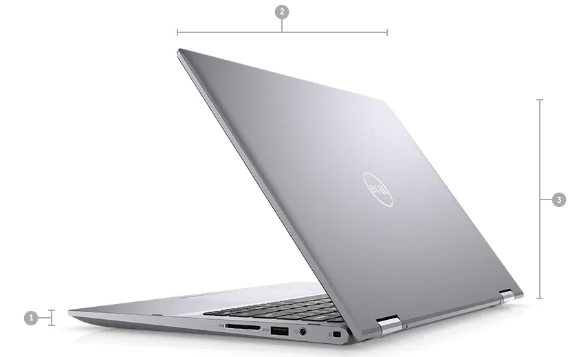 Laptop Dell T5406 Core i7-1165G7 Ram 8GB SSD 512GB GeForce MX330 2GB