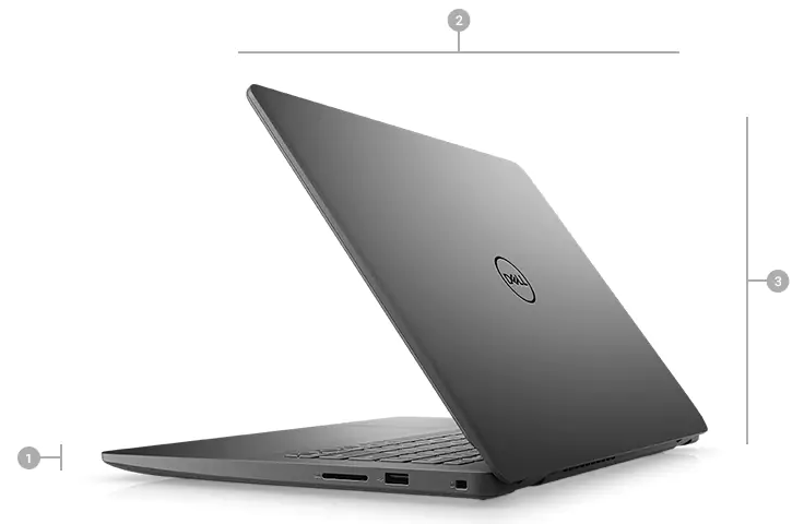 Laptop Dell Vostro 14 3400 Core i3-1115G4 Ram 8GB, SSD 256GB 14.0 inch Full HD Windows 10
