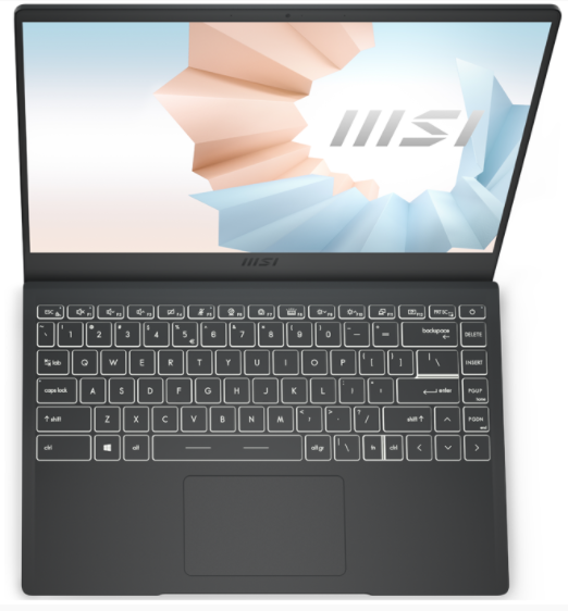 review Laptop MSI Modern B11M-073VN Core i7-1165G7